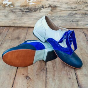 Leather handmade shoes.